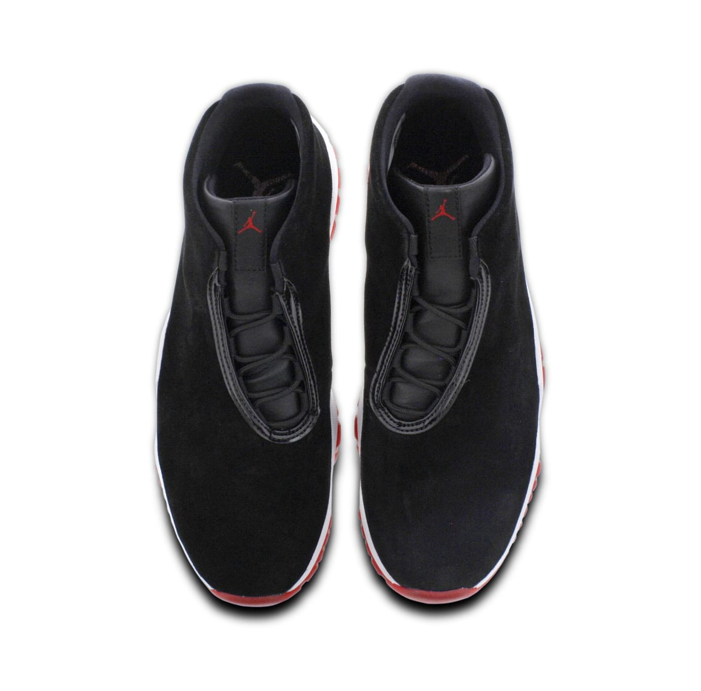 Jordan Future 'Bred' BlackVarsity RedWhite | Sole Collector