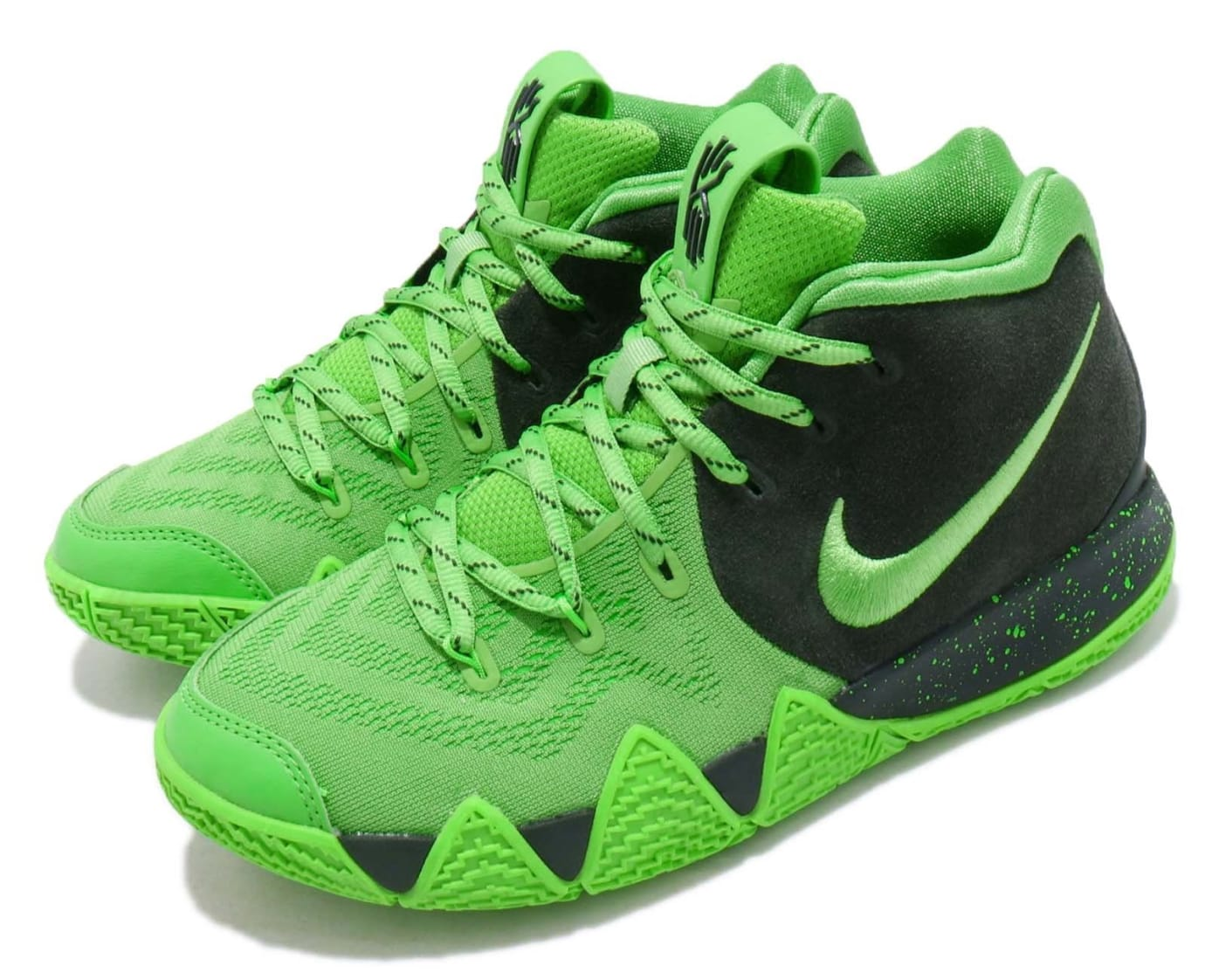 Nike Kyrie 4 GS Spinach Green Release Date AA2897-333 Front