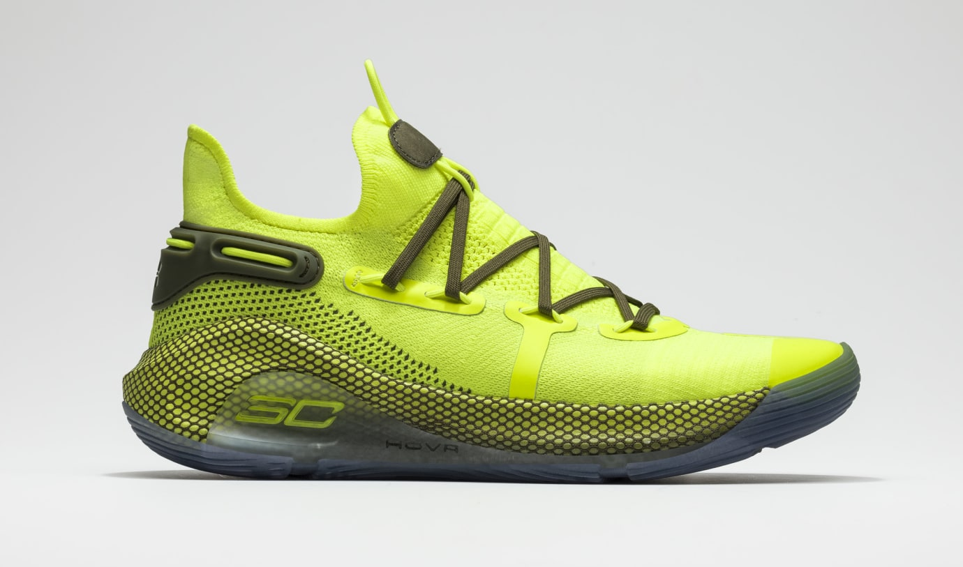 Under Armour Curry 6 All-Star 'Coy Fish' 3020612-302 Lateral