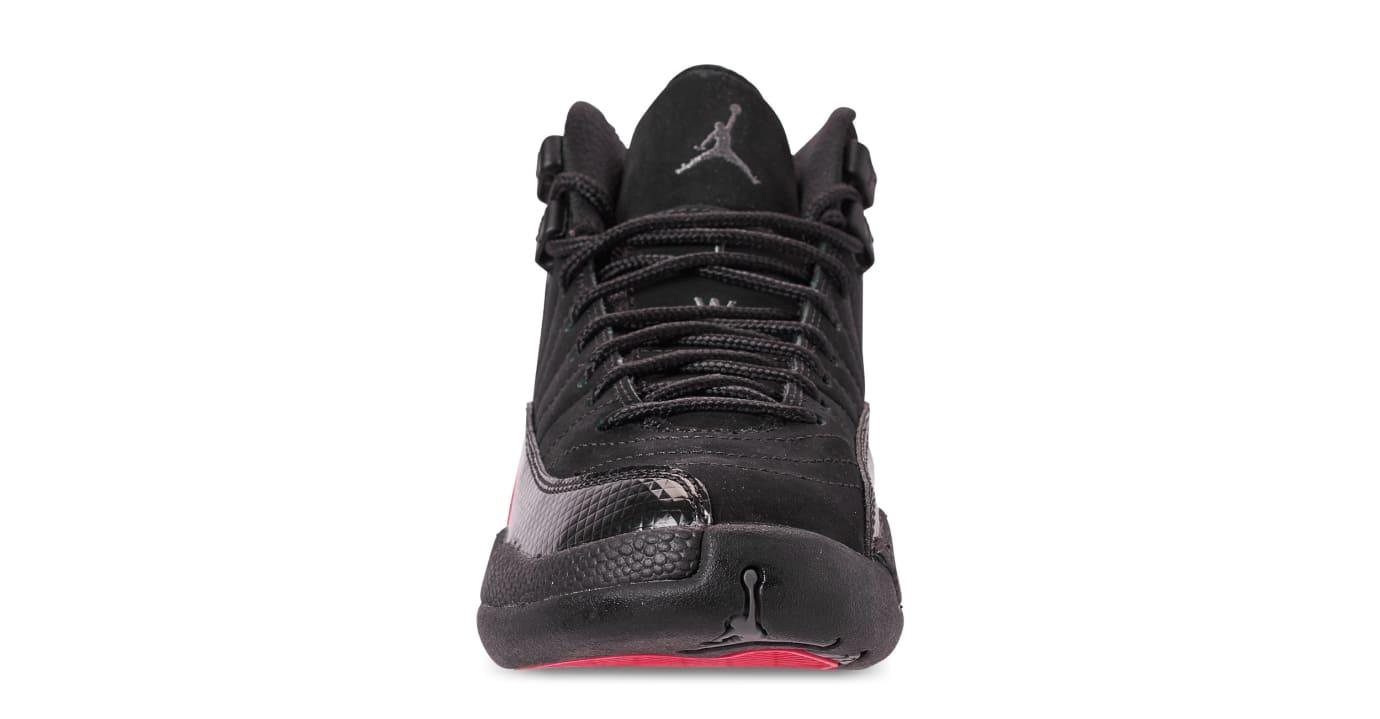 designer fashion 20c1b 51543 Image via Finish Line Air Jordan 12 Retro GG  Black Dark Grey Rush Pink   510815-
