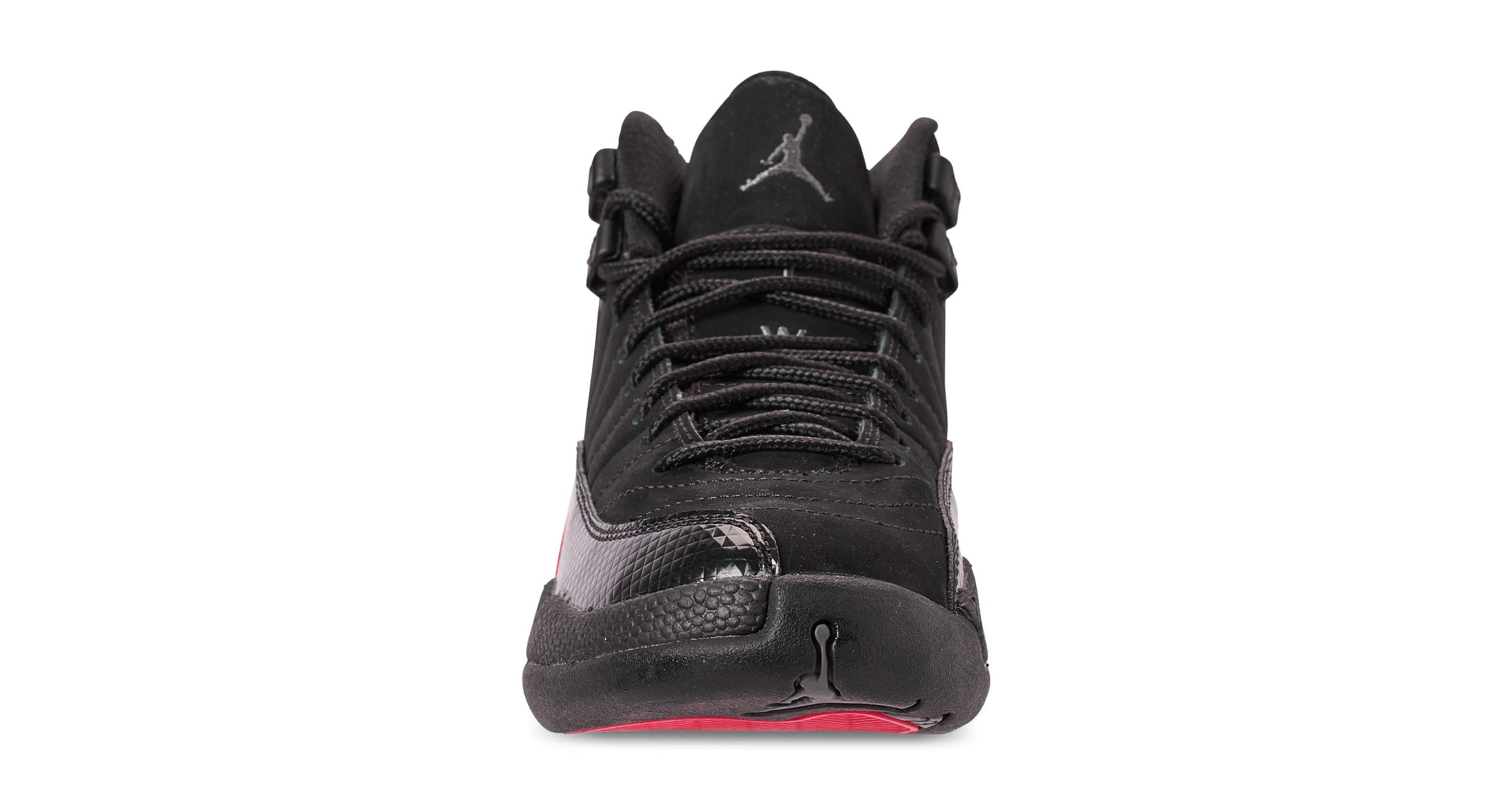 sports shoes c8076 ee8d7 ... clearance image via finish line air jordan 12 retro gg black dark grey  rush pink 510815