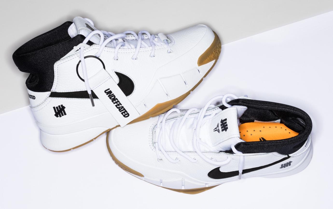 Undefeated x Nike Kobe 1 Protro 'White/Gum' 1