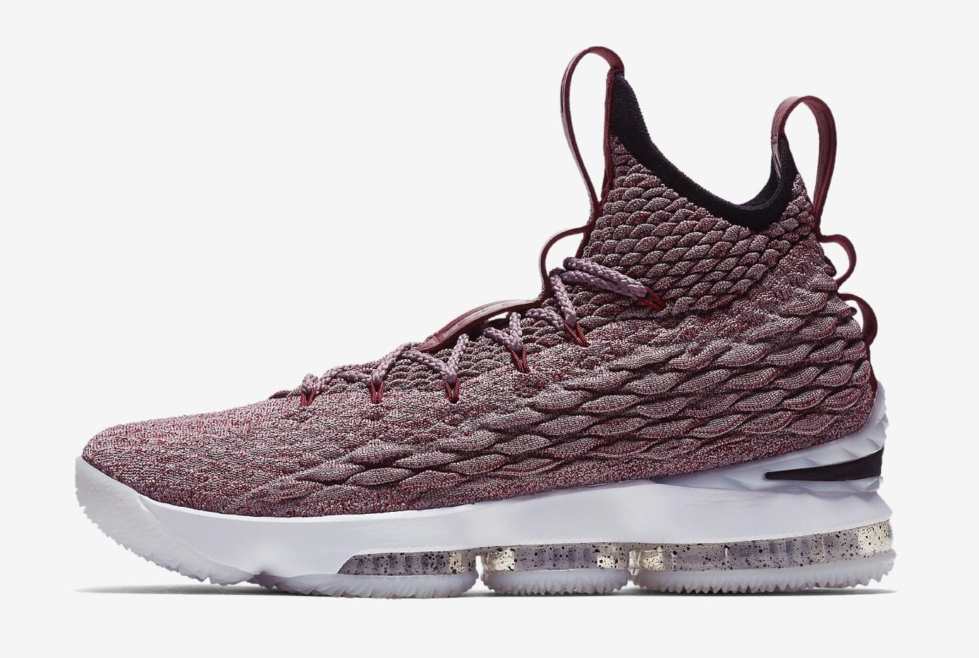 Nike LeBron 15 'Wine' 897649-201 (Lateral)