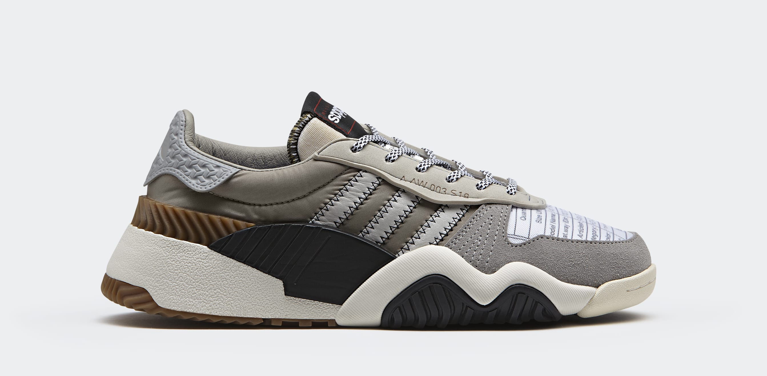 Alexander Wang x Adidas Turnout Trainer 'Light Brown' AQ1237 (Lateral)