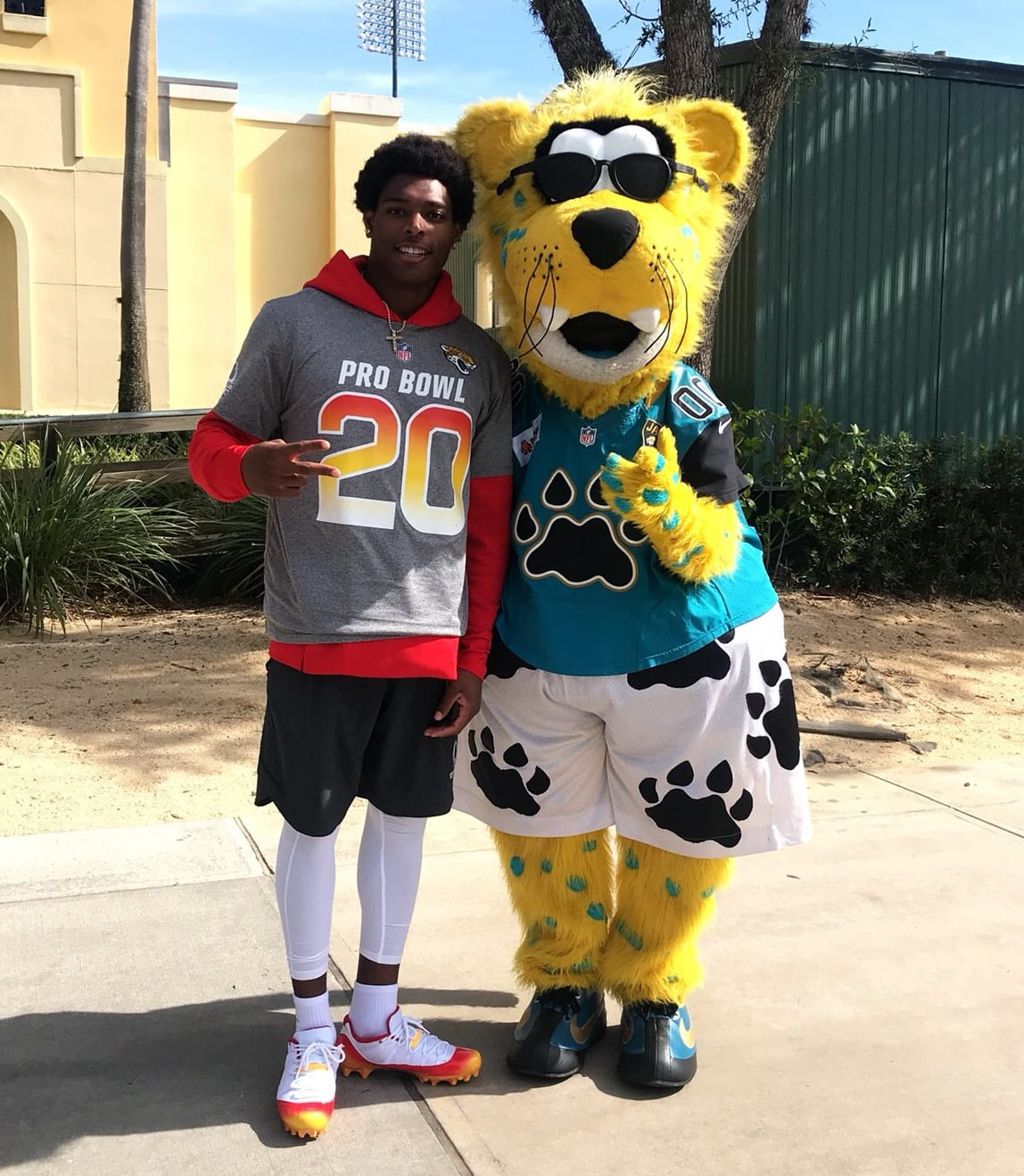 Jalen Ramsey Air Jordan 11 Low 2018 Pro Bowl PE AFC
