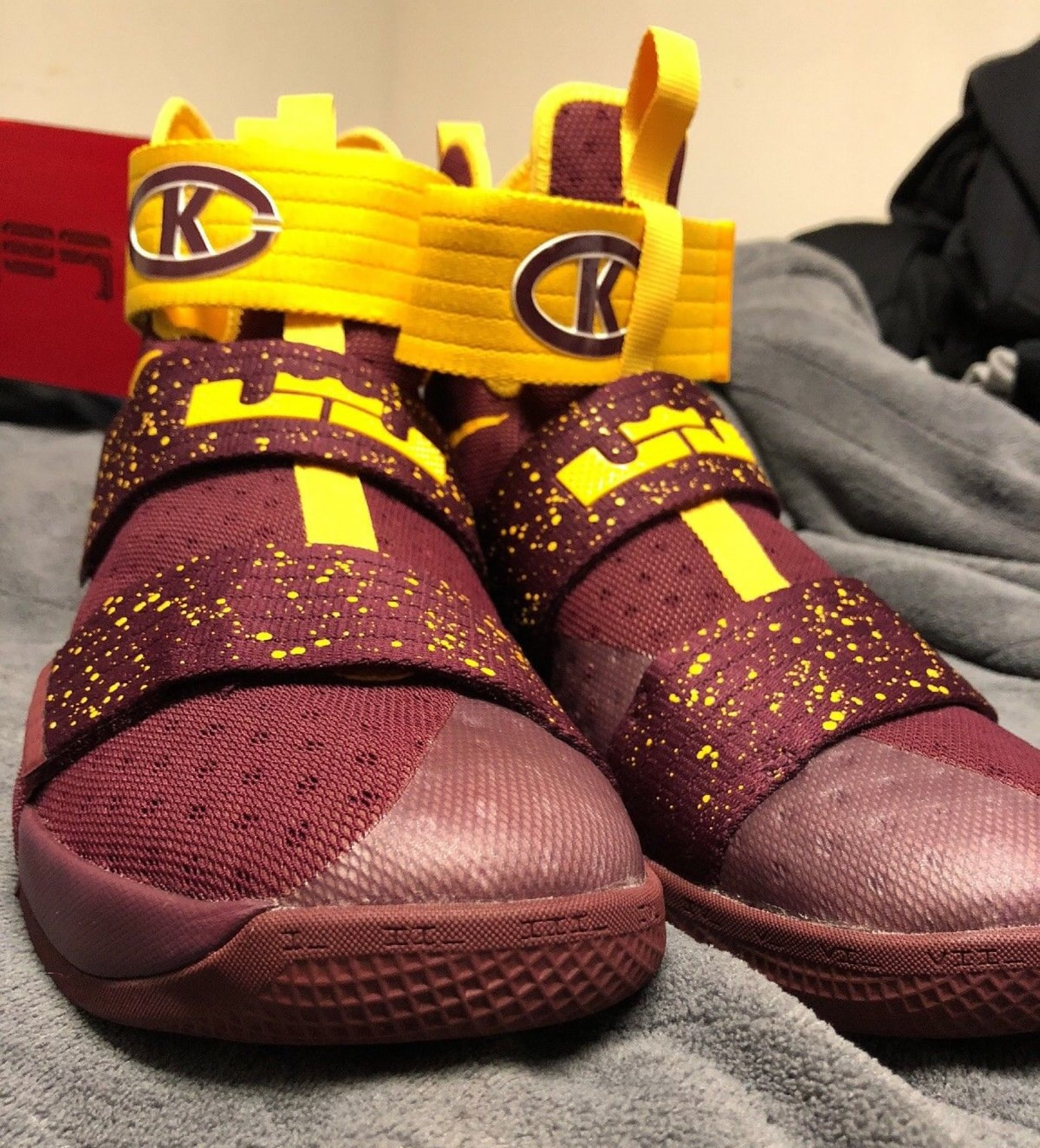144b9312172 Nike LeBron Soldier 10  Christ the King  PE