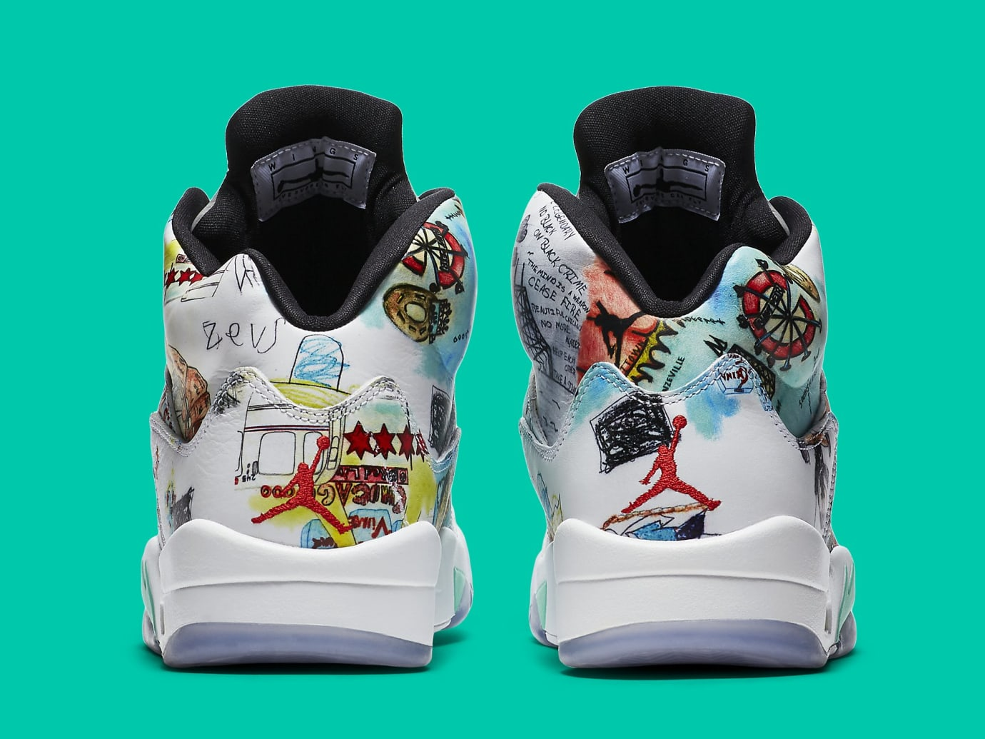 3352f3c761b Air Jordan 5 V Wings Release Date AV2405-900 Pair | Sole Collector