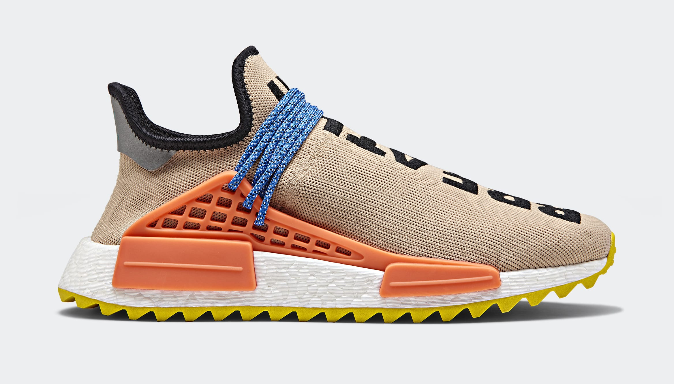 Pharrell x Adidas Originals Hu NMD TR 'Hiking Collection' AC7361 (Lateral)