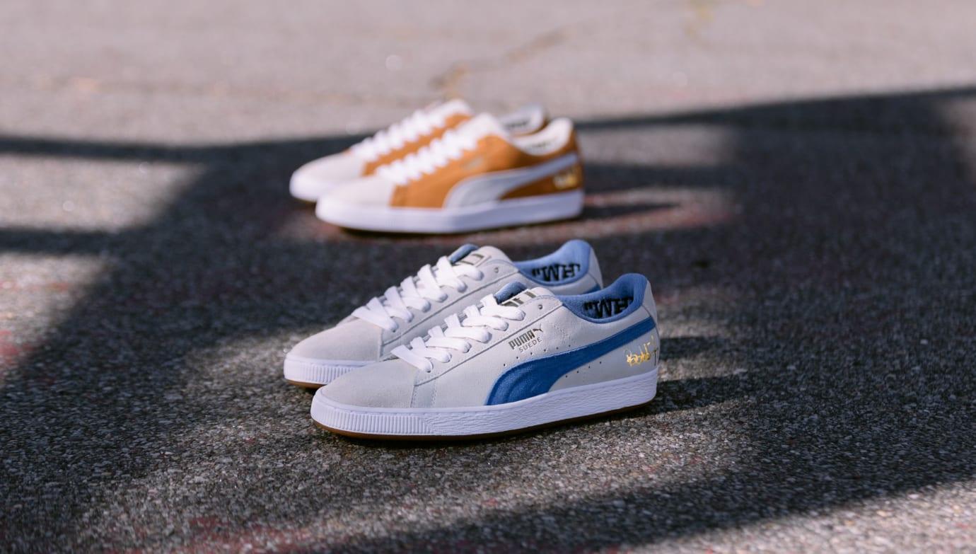 Bobbito x Puma Suede 50 (White/Royal Blue and Orange/White)