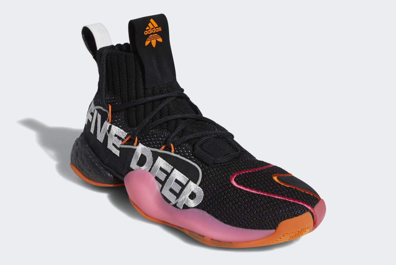 huge selection of 2bd84 723ae Image via US11 · Adidas Crazy BYW X PE  Wall Way  Core Black Footwear White  Orange