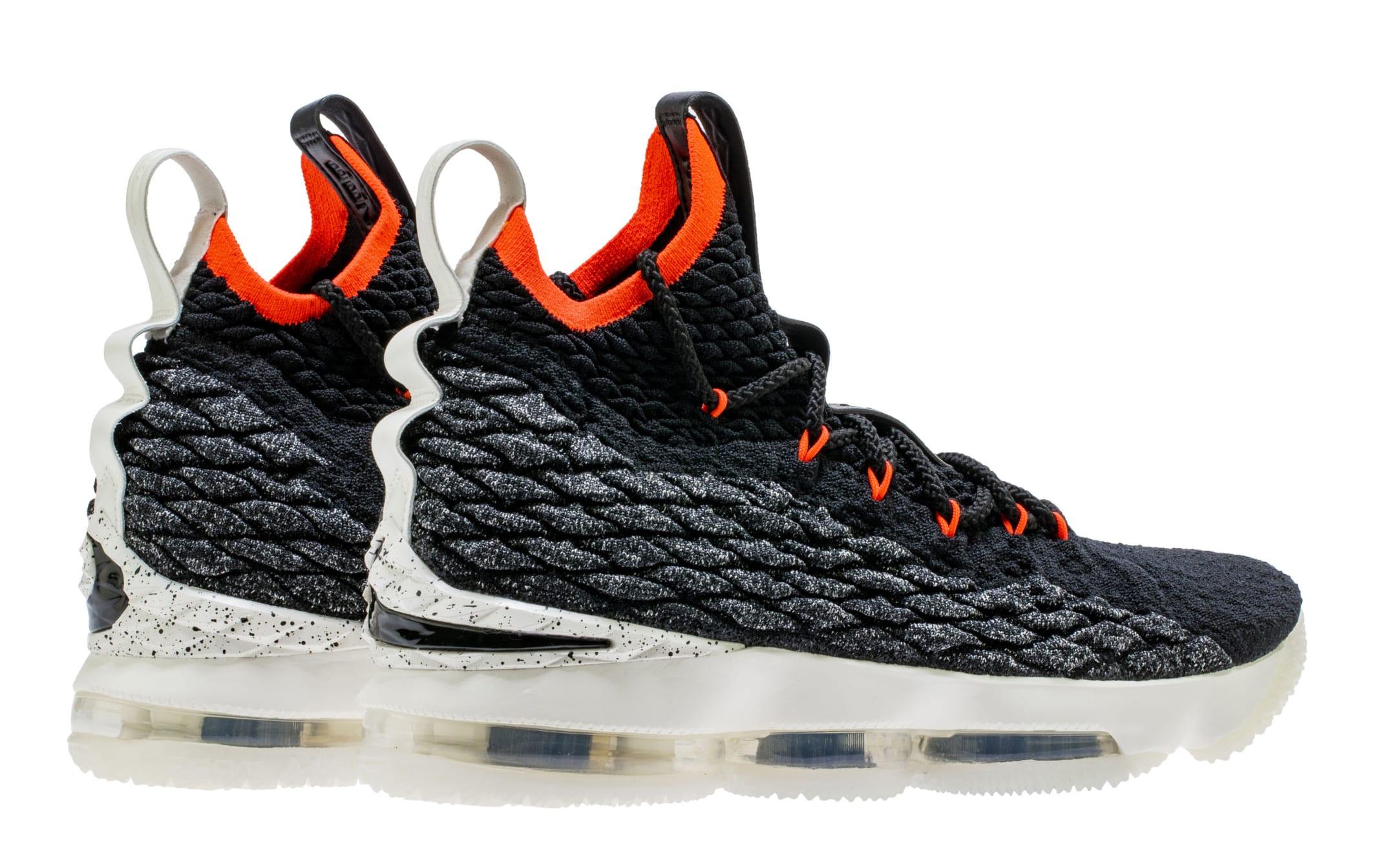 Nike LeBron 15 'Bright Crimson' AQ2363-002 (Heel)