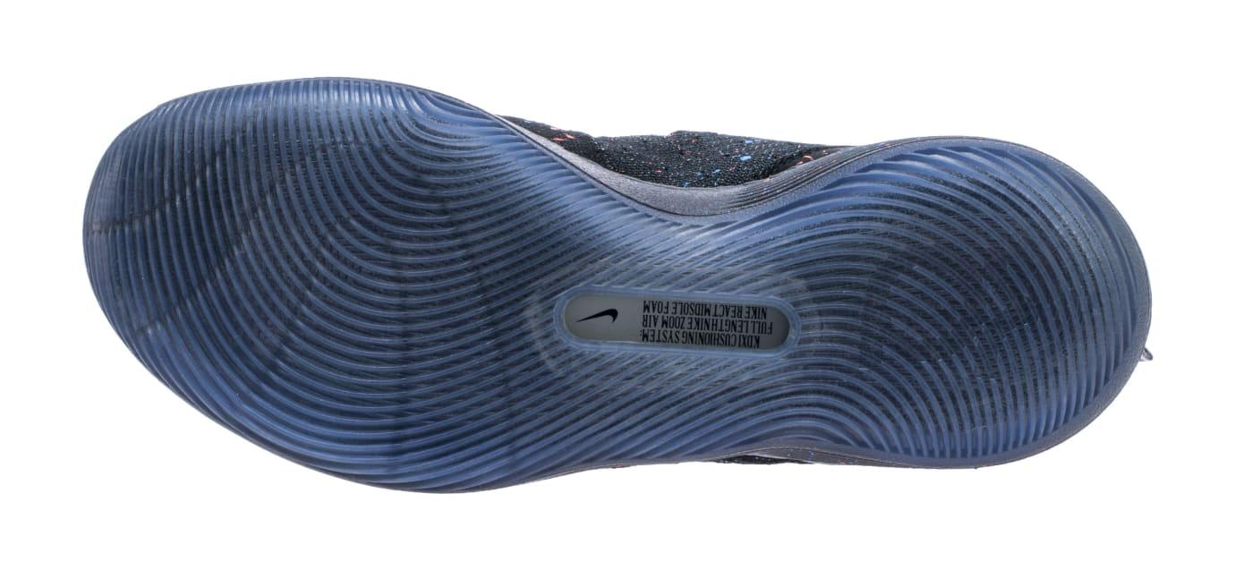 Nike KD 11 'Just Do It' Black/Bright Crimson-Photo Blue AO2604-007 (Bottom)