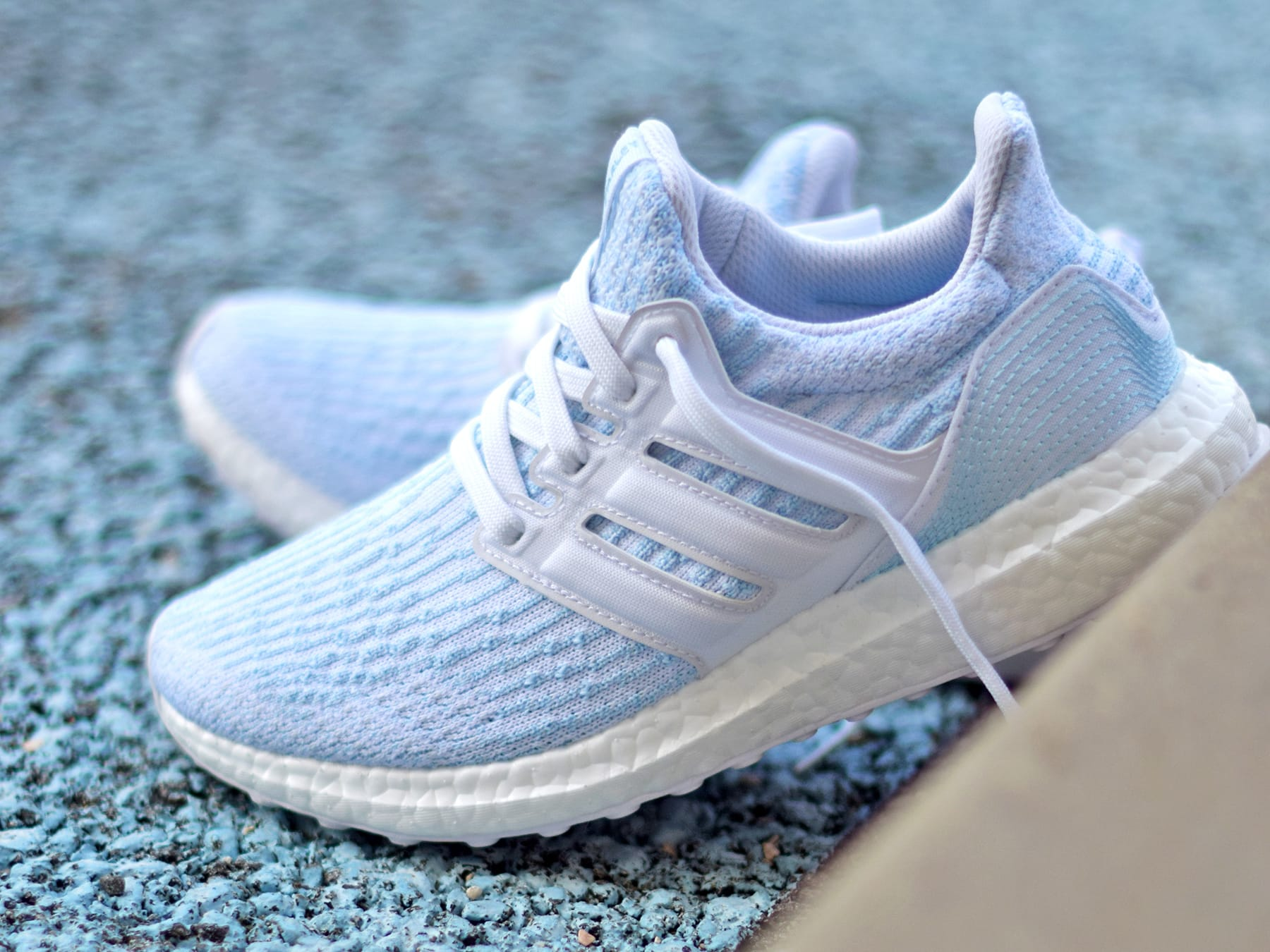 Parley X Adidas Ultra Boost 3 0 Quot Ice Blue Quot Sole Collector
