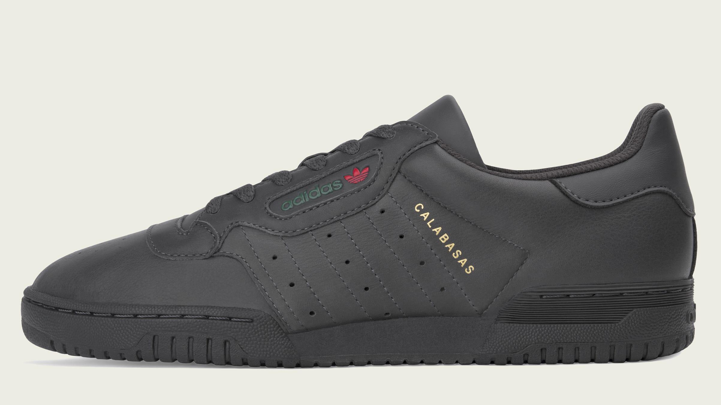 Adidas Yeezy Powerphase 'Core Black' CG6420 (Left)