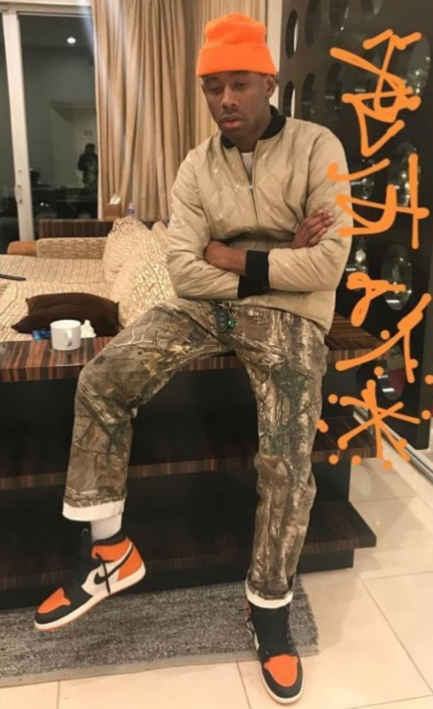 jordan 1 with adidas pants