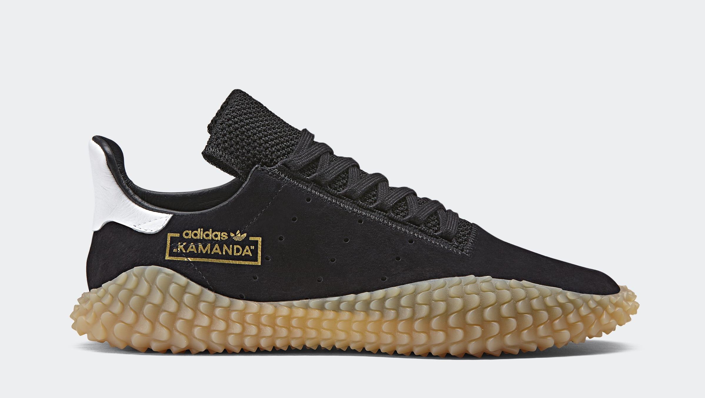 Adidas Kamanda 'Black/Gum' CQ2220 (Lateral)