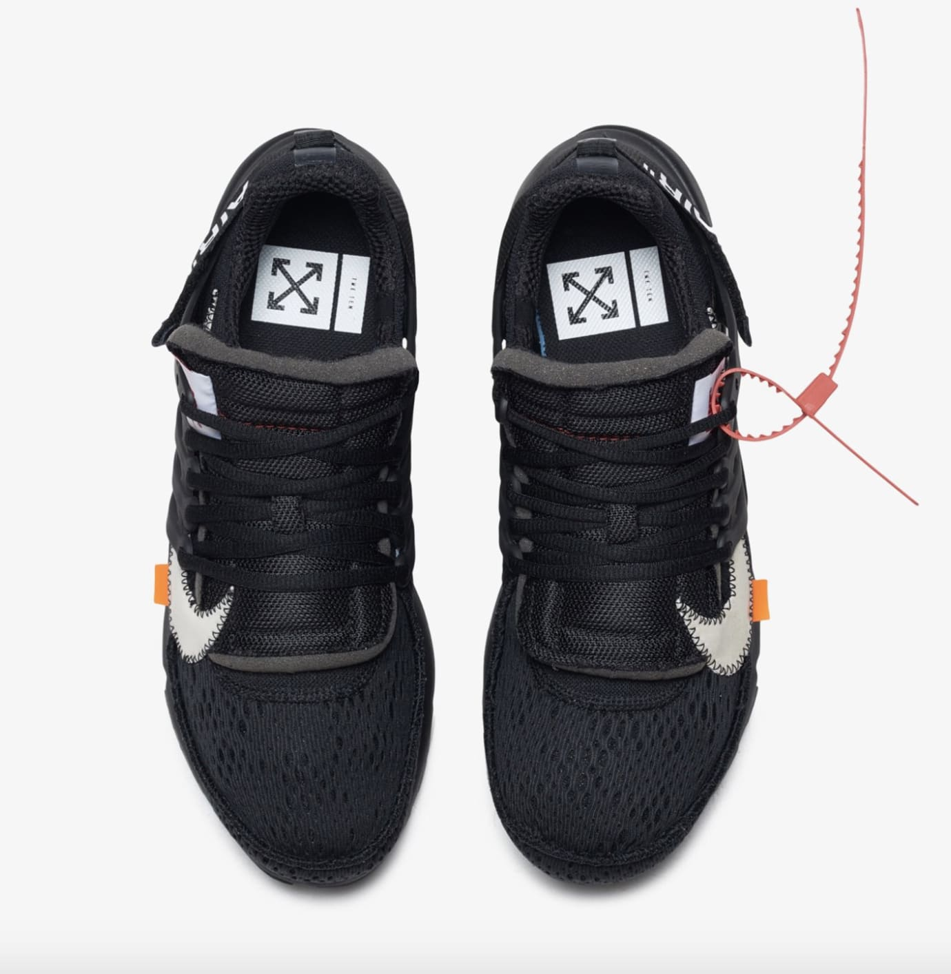 Off-White x Nike Air Presto Black AA3830-002 White AA3830-100