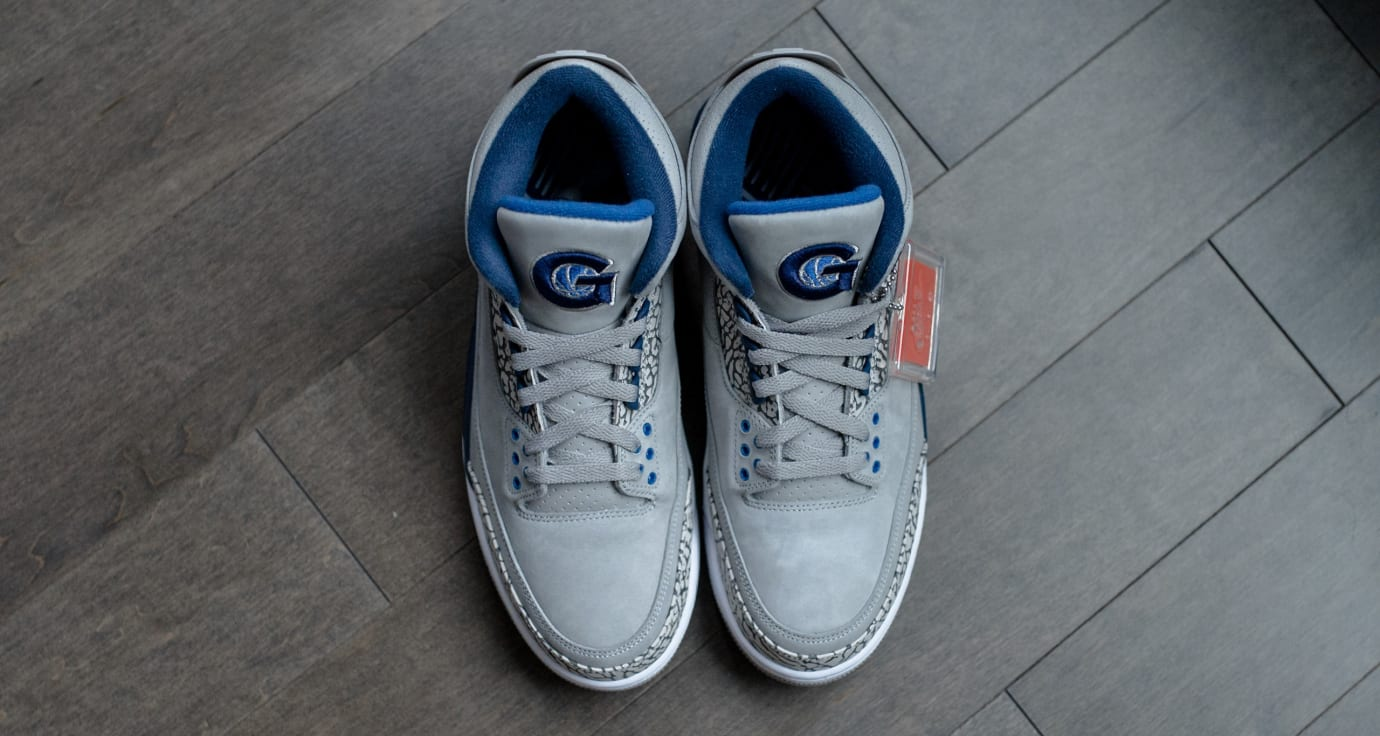 Air Jordan 3 'Georgetown' (Top)