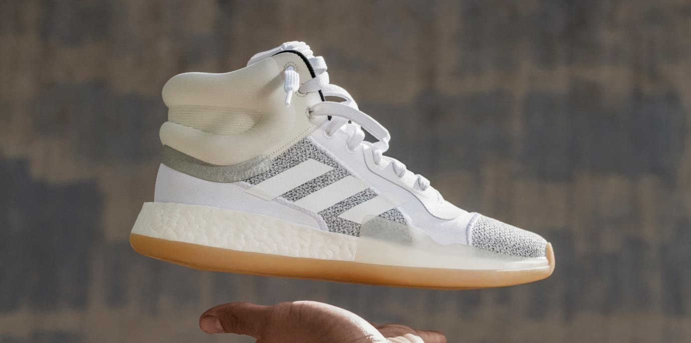 newest 365a0 a4e97 Image via Adidas Adidas Marquee Boost (White)