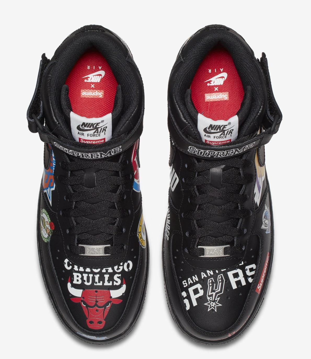 Supreme x NBA x Nike Air Force 1 Mid AQ8017-001 (Top)