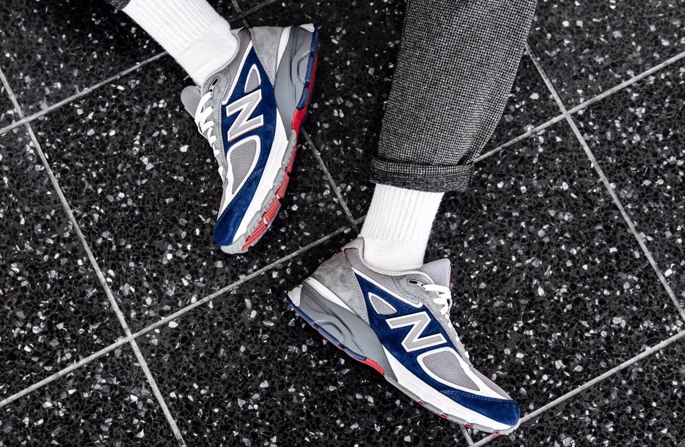 DTLR/Villa x New Balance 990 (On-Foot Medial)