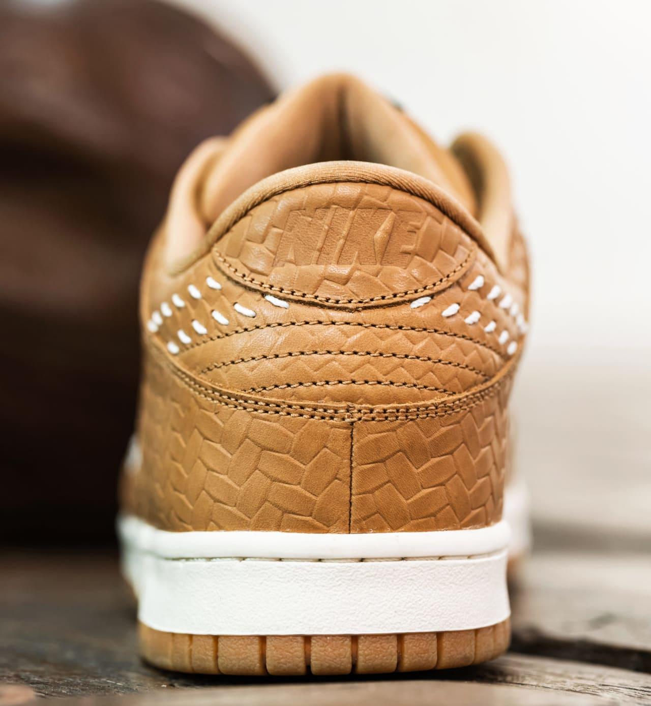 Nike Dunk Low PRM QS Paris 'Elemental Gold' AH1072-700 (Heel)