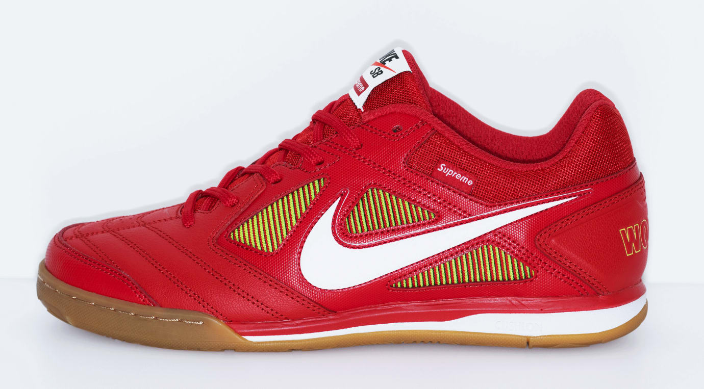 new product 1a5b7 825ca Supreme x Nike SB Gato  Red