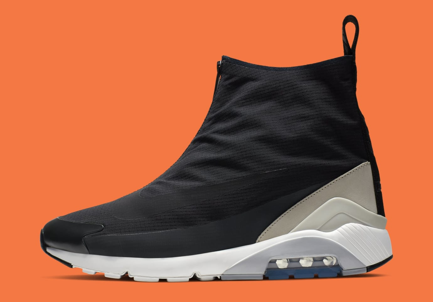 Ambush x Nike Air Max 180 Hi 'Black/Black-Pale Grey' BV0145-001 (Lateral)