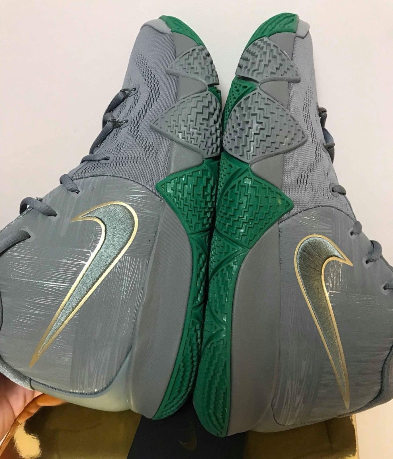Nike Kyrie 4 City Guardians Release Date 943806 001 Lateral