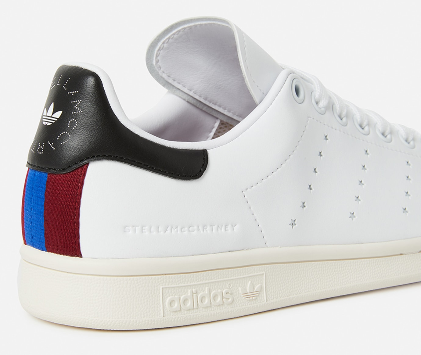 new product d0861 a97c6 Image via Stella McCartney Stella McCartney x Adidas Stan Smith (Heel  Branding)