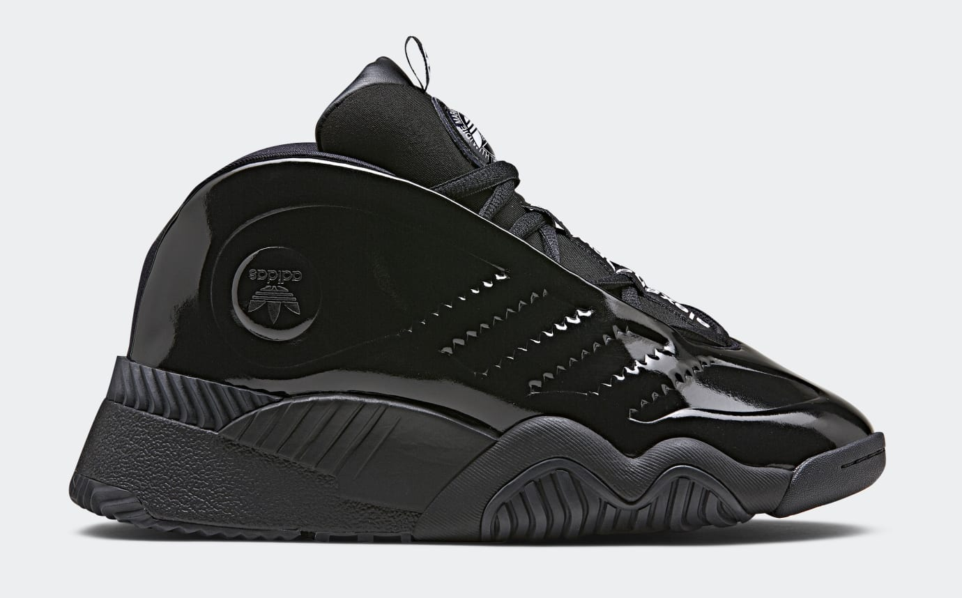 Alexander Wang x Adidas AW Turnout Bball 'Black' (Lateral)