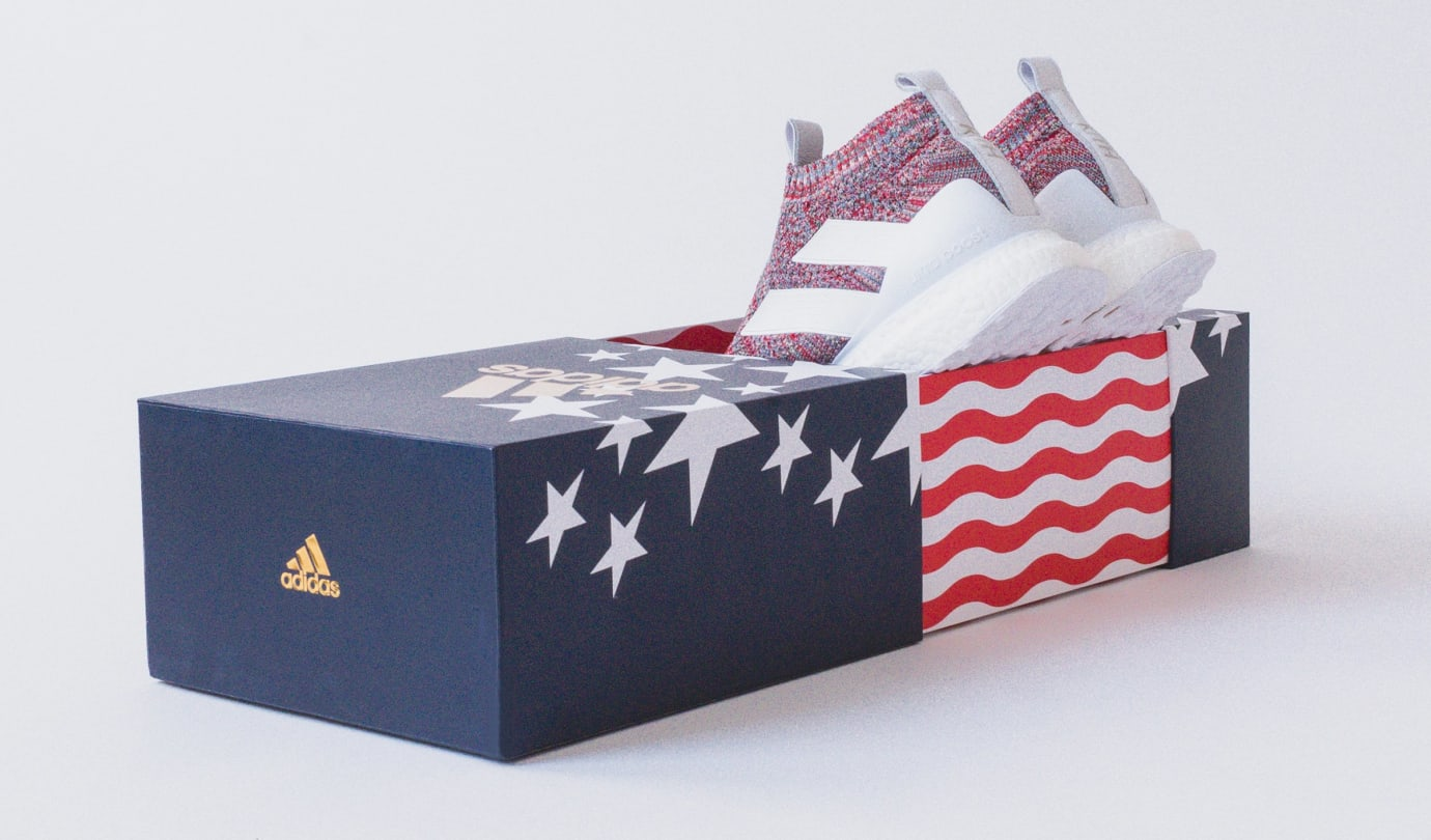 Kith x Adidas Soccer Ace 16+ Purecontrol Ultra Boost (Packaging)
