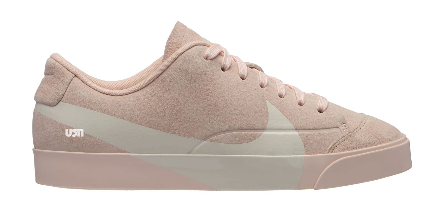 Nike Blazer City Low XS 'Pink' (Lateral)