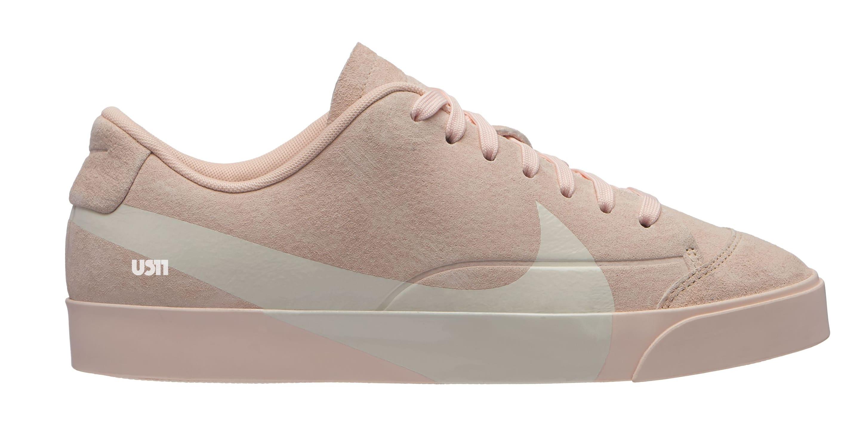 Nike Blazer City Low XS 'Pink' (Lateral)