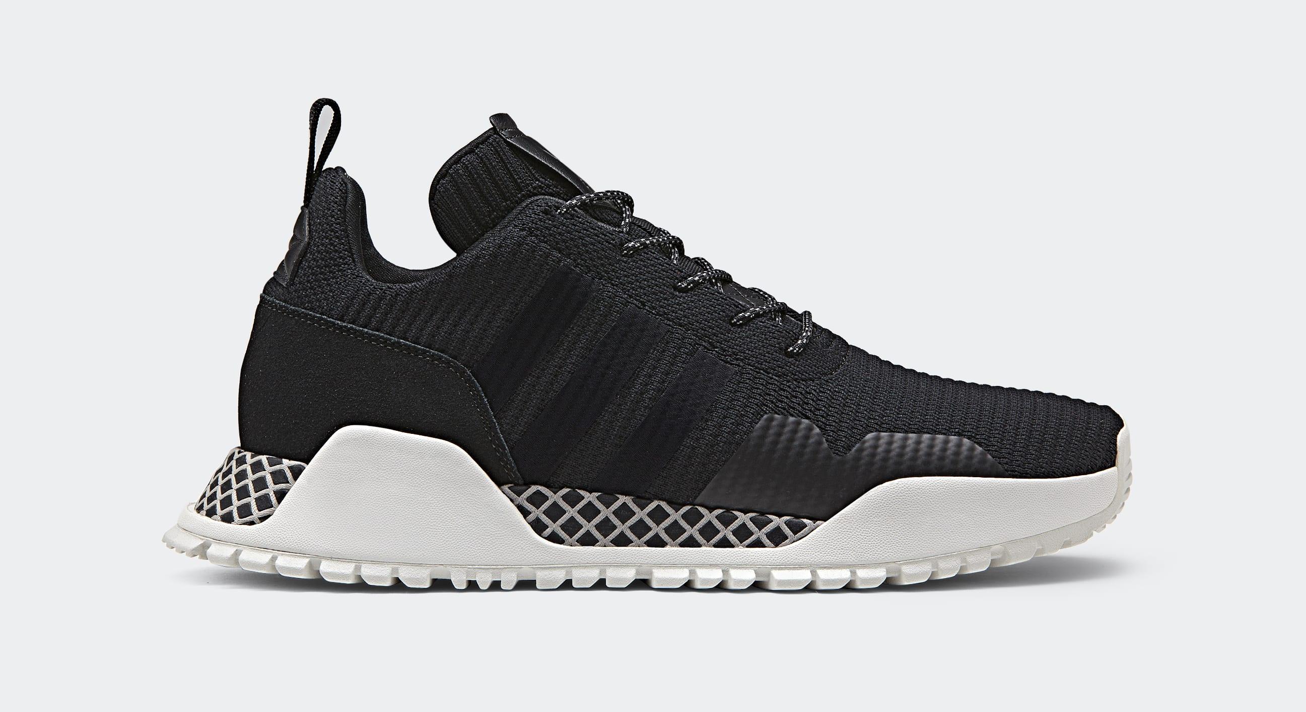 big sale 0f0a7 514f8 ... Image via Adidas Adidas AF 1.4 PK BY9395 (Lateral) adidas AF 1.4  Primeknit Shoes Black ...