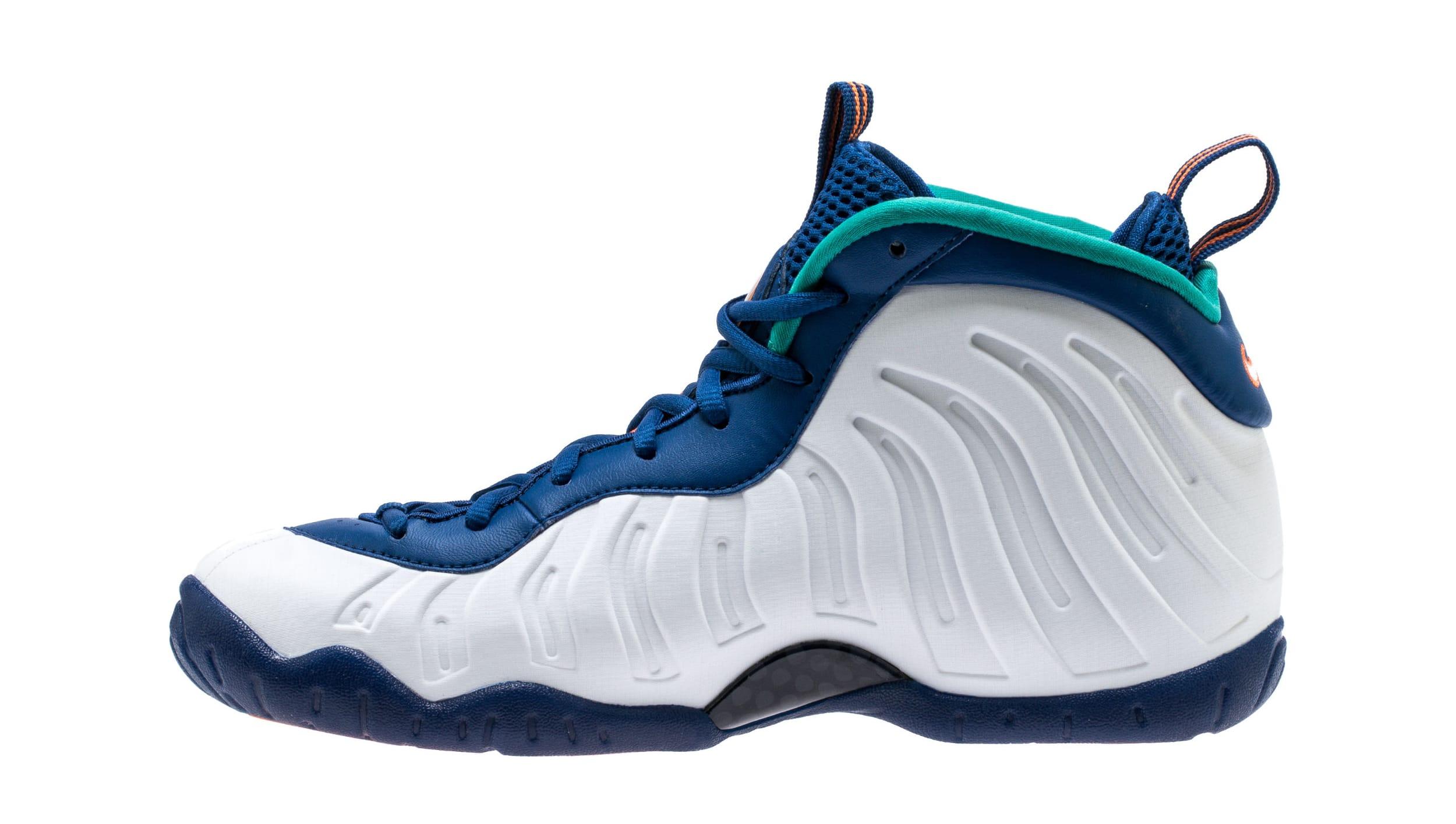 Nike Little Posite Pro 'Gym Blue' 644792-404 (Medial)