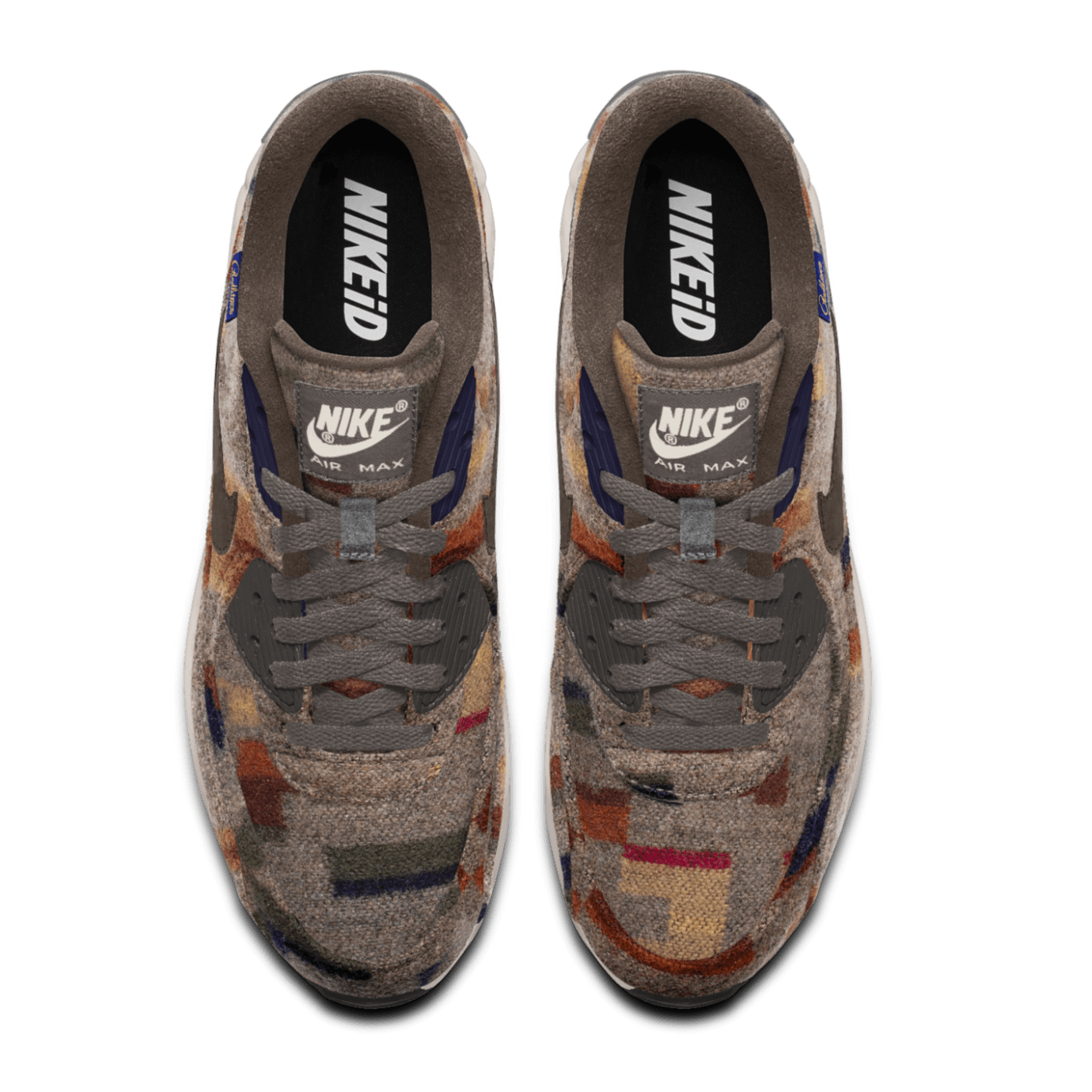quality design f8408 3a35b Image via Nike Nike Air Max 90 ID Pendleton Wool