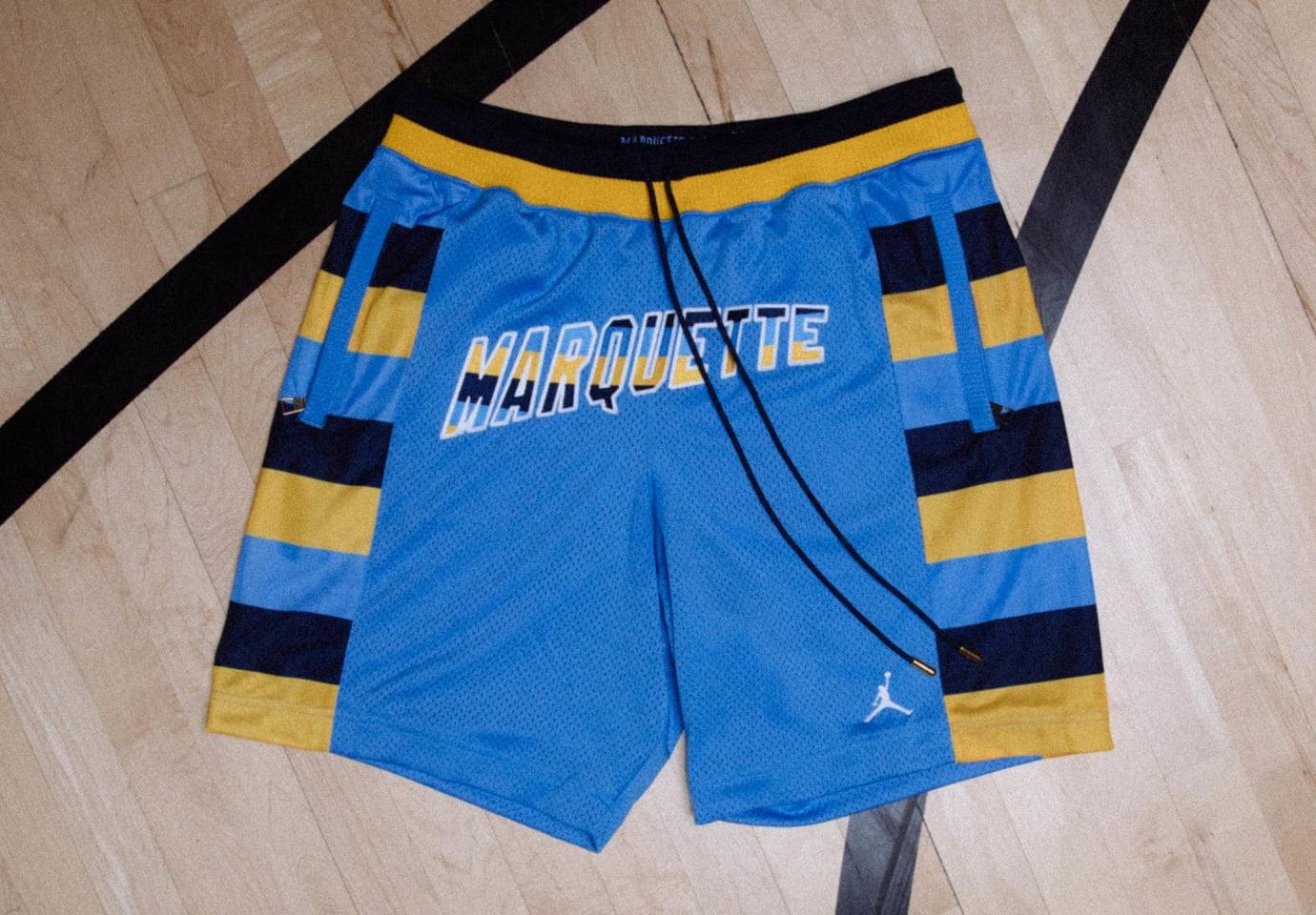 Just Don x Jordan Flight Shorts Release Date Marquette