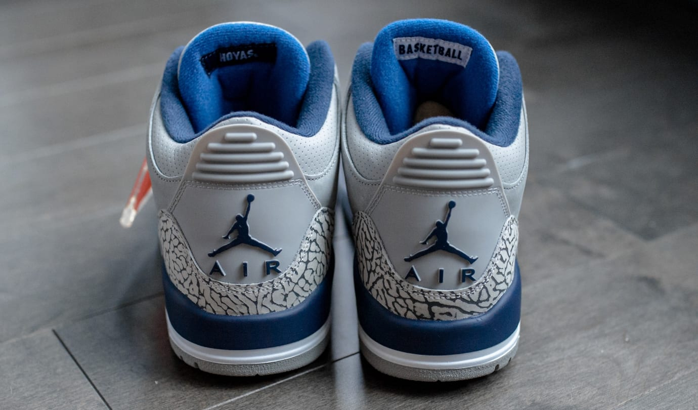 Air Jordan 3 'Georgetown' (Heel)