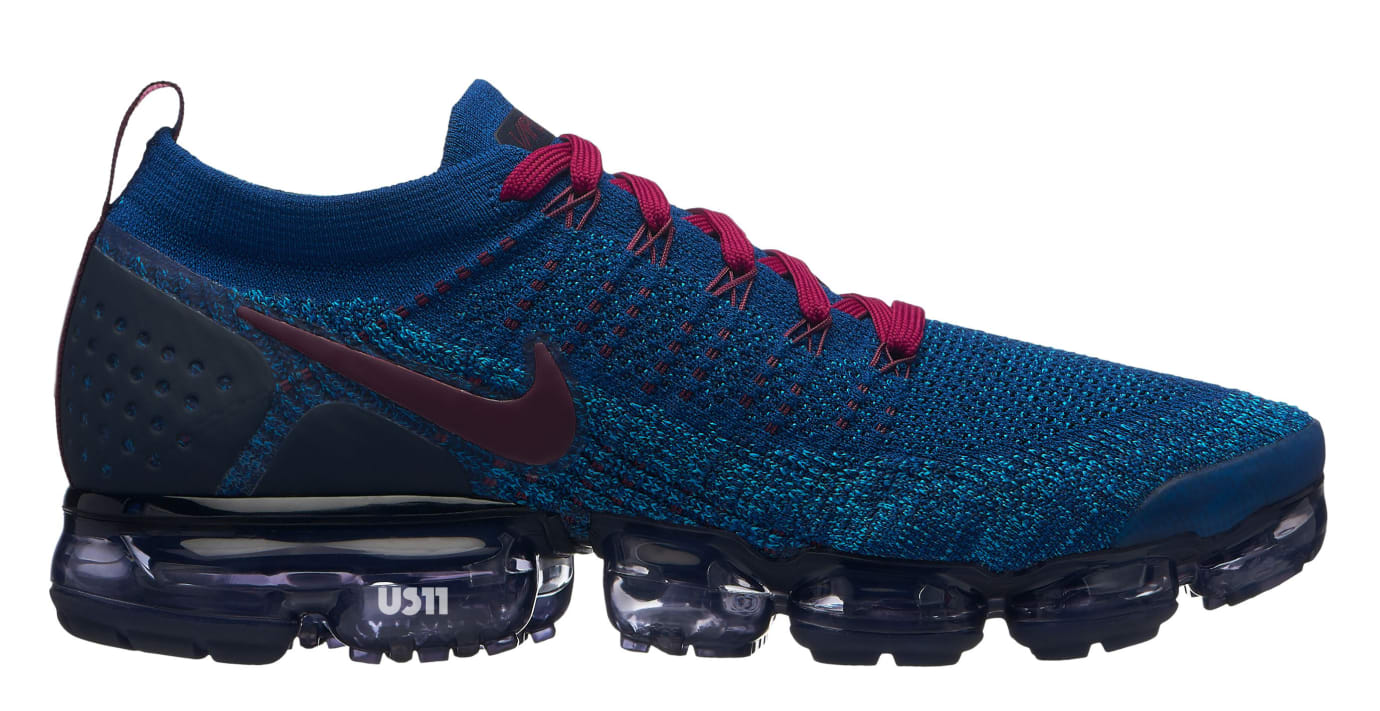 db58429dec6c6 Image via US11 · Nike VaporMax 2.0 Blue Burgundy