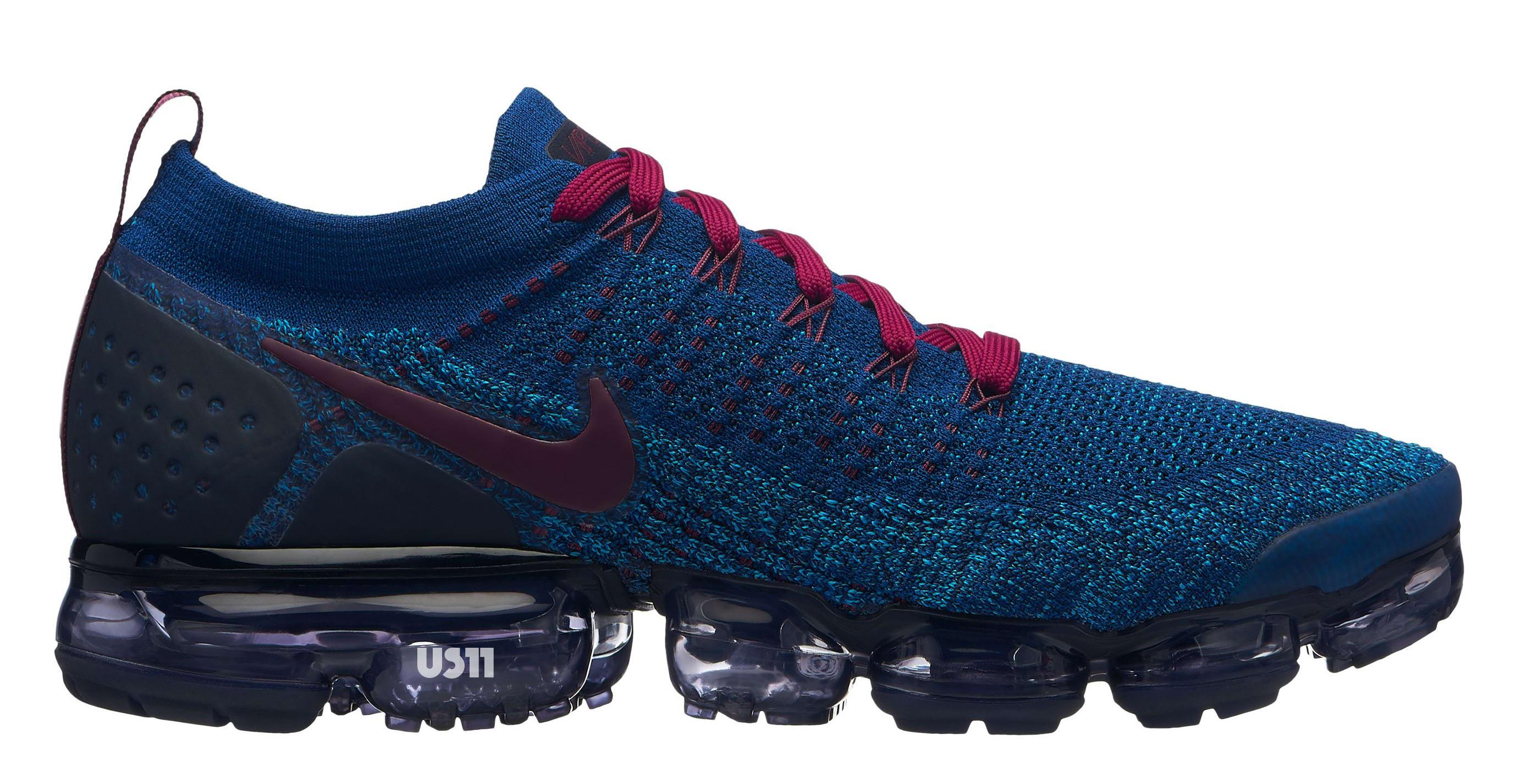Nike VaporMax 2.0 Blue/Burgundy