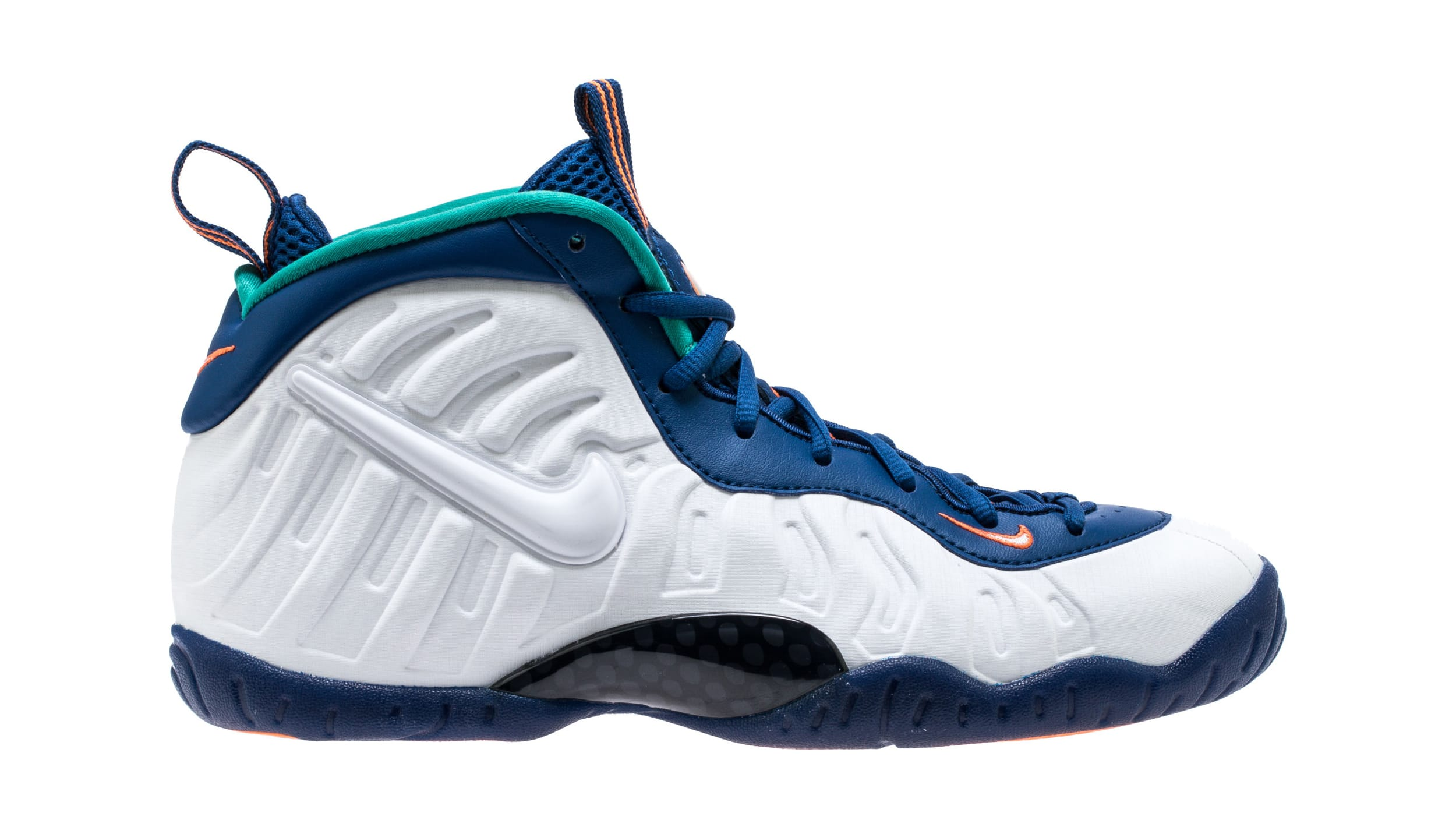 Nike Little Posite Pro 'Gym Blue' 644792-404 (Lateral)