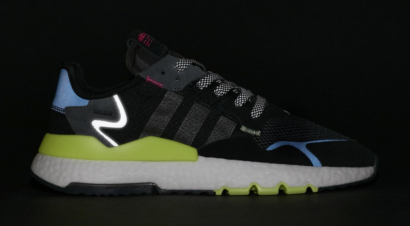SNS x Adidas Nite Jogger 'Black/Carbon-Grey Six' EE9462 (3M)