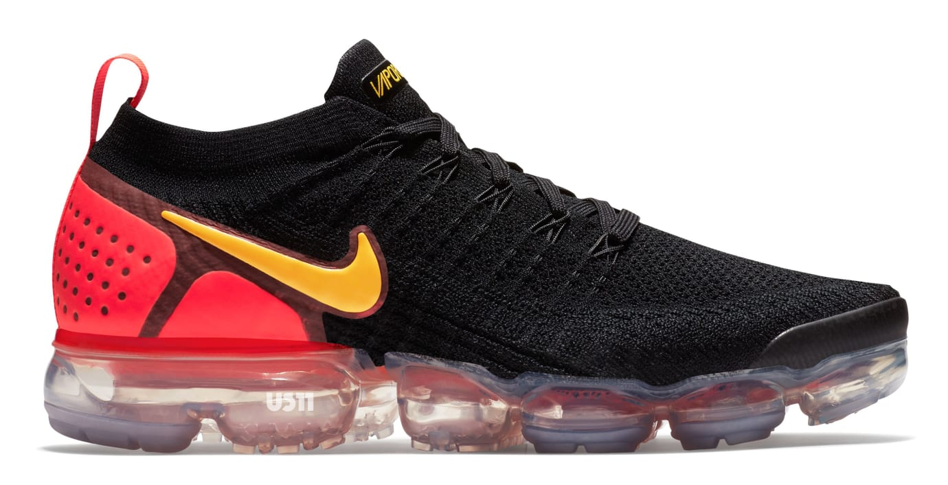 851a608f8d3 Image via US11 · Nike Air VaporMax 2.0 Black Yellow Red