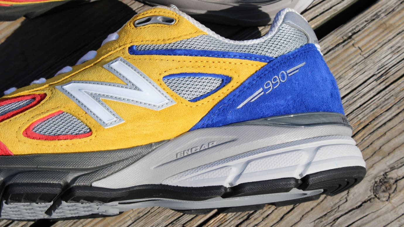 outlet store a721c 1b000 Shoe City x EAT x New Balance 990v4 Release Date | Sole ...