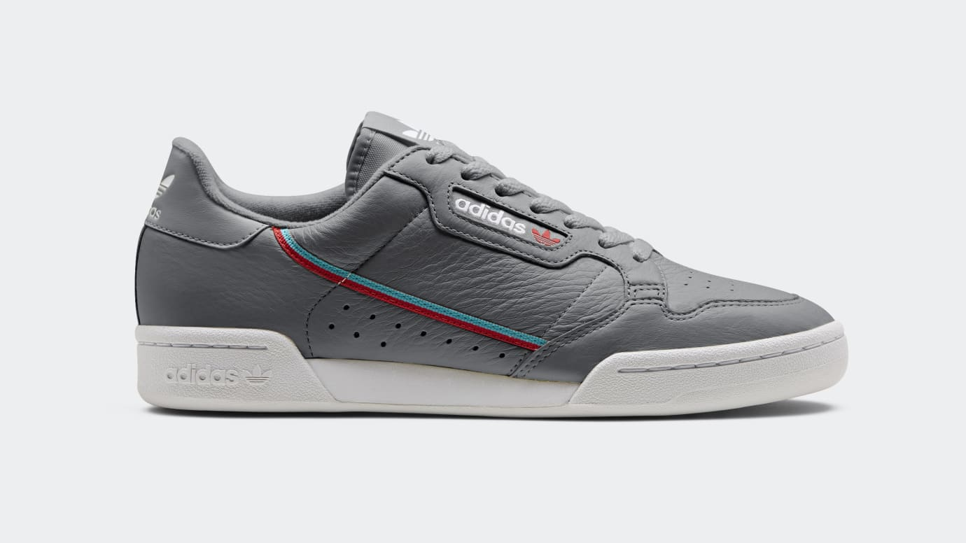 big sale 64647 b63d7 Image via Adidas Adidas Continental 80 Silver B4167 Release Date