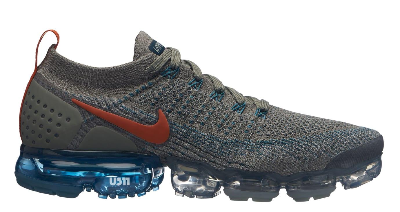 367301c415d Image via US11 · Nike Air VaporMax 2.0 Grey Orange Blue