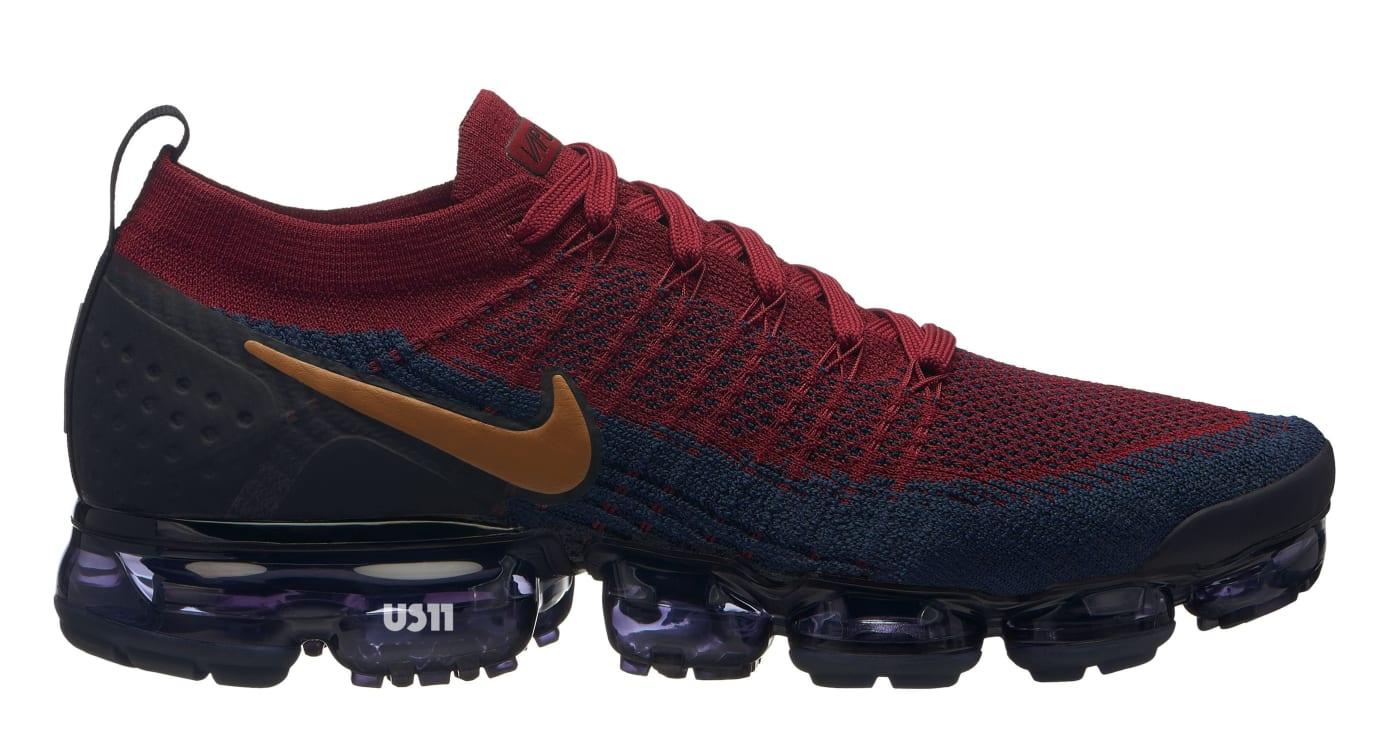 Nike VaporMax 2.0 Maroon/Blue