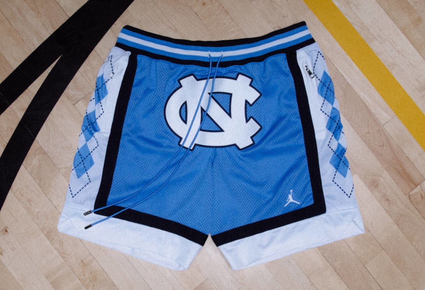 Just Don x Jordan Flight Shorts Release Date UNC Blue