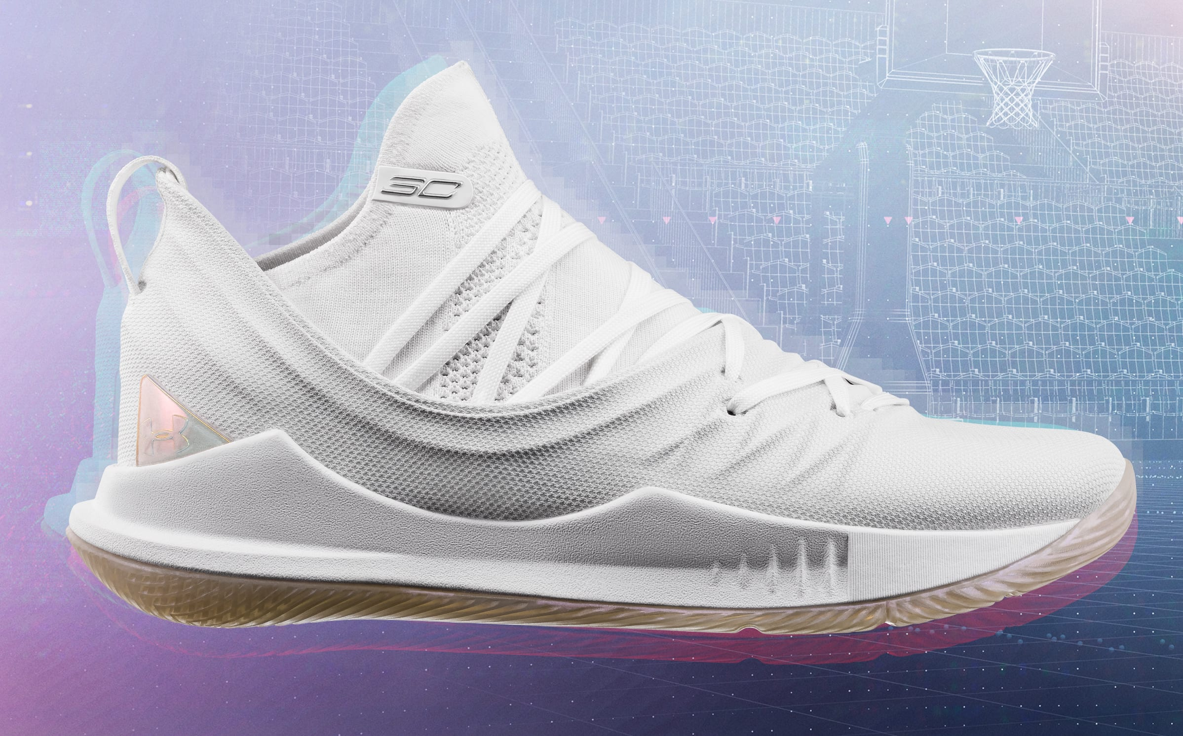 Under Armour Curry 5 'White/White'